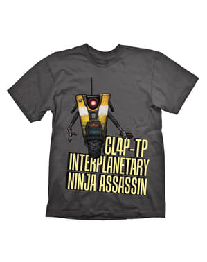 Borderlands Claptrap Assasin T-skjorte for voksne