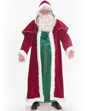 Victorian Father Christmas costume
