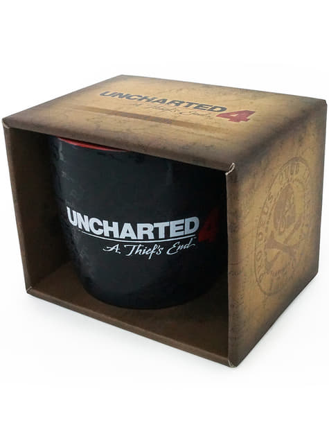 Kubek Uncharted 4: A Thief's End Compass Map