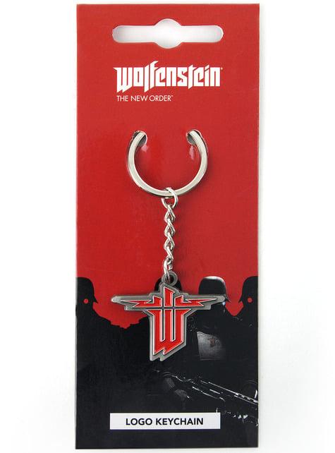Breloczek do kluczy Wolfenstein Logo