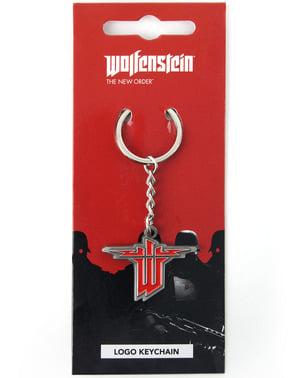 Wolfenstein Logo Nøkkelring