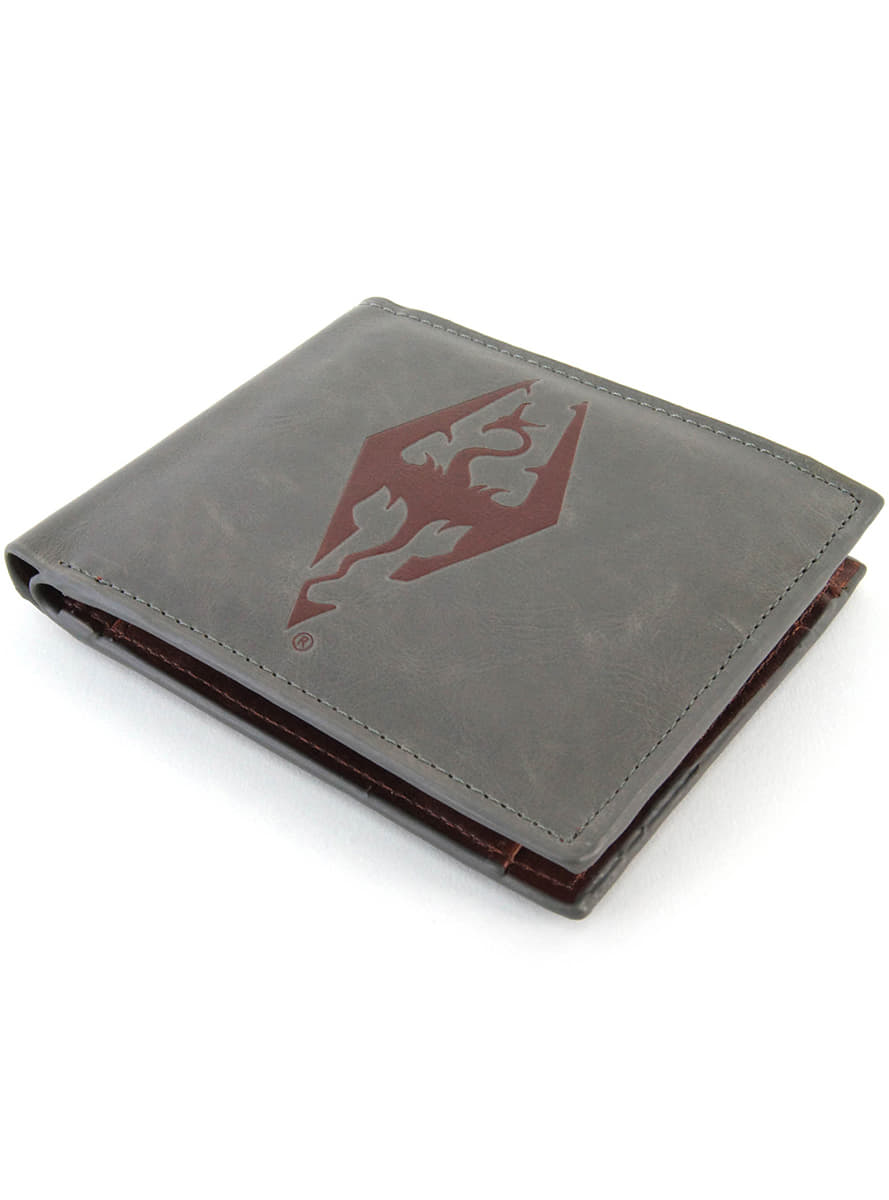 The Elder Scrolls V  Skyrim Dragonborn Wallet for true fans  bafca6433934