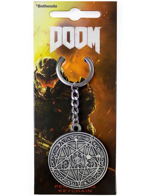 Doom פנטגרם Keychain