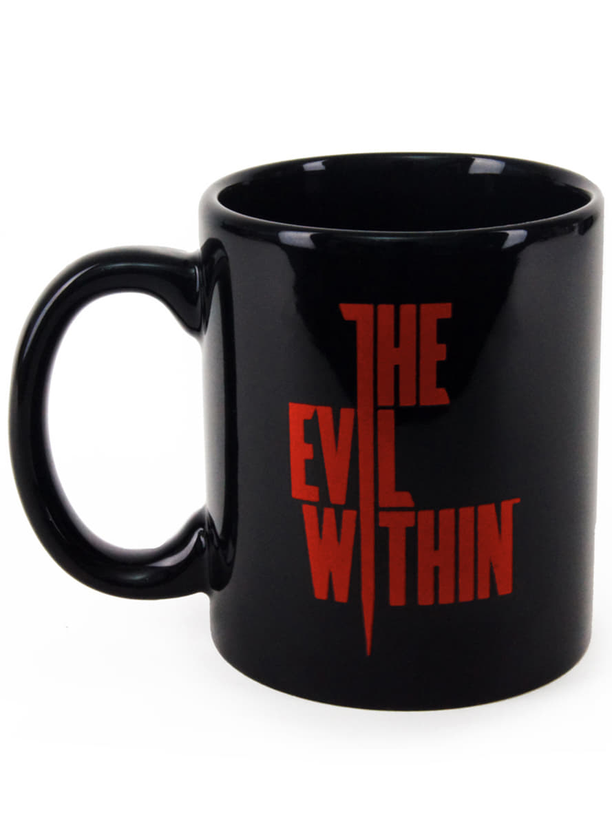 mug the evil within logo officiels pour les fans funidelia. Black Bedroom Furniture Sets. Home Design Ideas