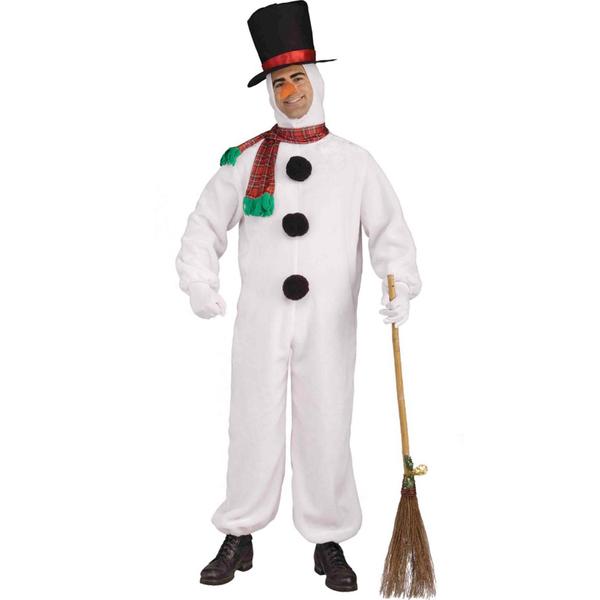 hacer disfraz muneco de nieve: