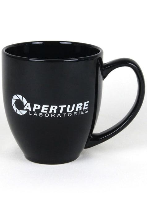 Caneca de Portal 2 Aperture Laboratories