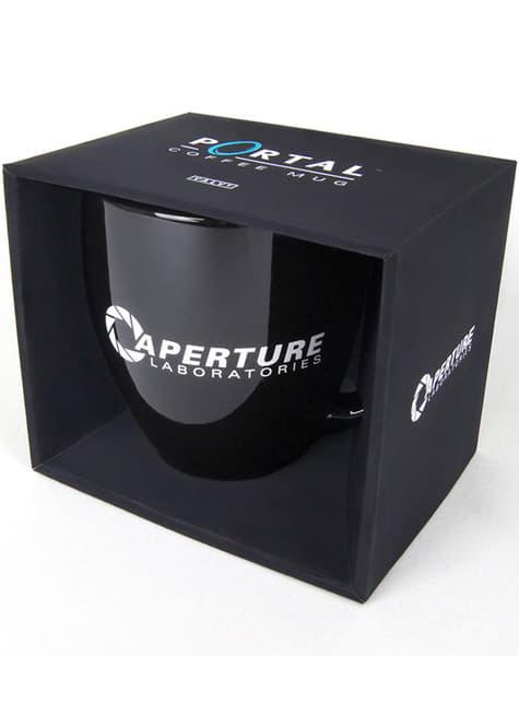 Taza de Portal 2 Aperture Laboratories