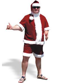 Disfraz de Papá Noel veraniego