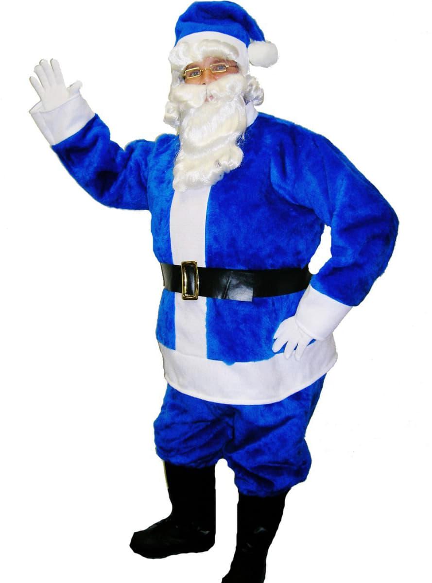"""defi - Défi écriture 18 : """"Si j'étais le père Noël..."""" Costume-de-pere-nol-bleu"""
