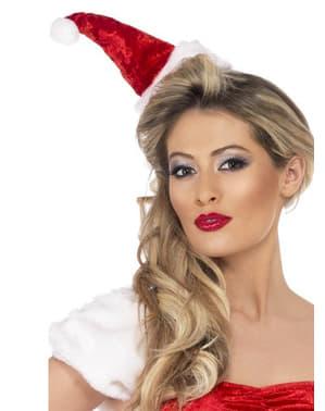 Mini czapka Świętego Mikołaja