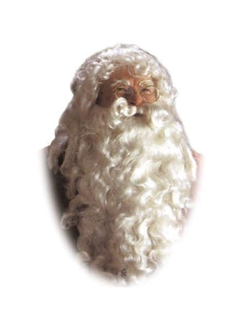 Pruik en baard kerstman keizerlijk
