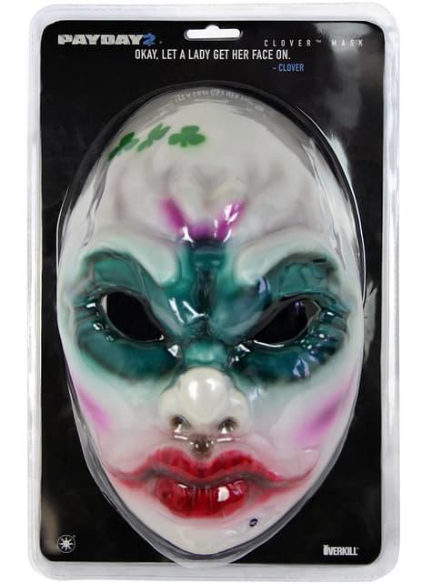 Máscara de Payday 2 Clover Mask - Réplica - barato