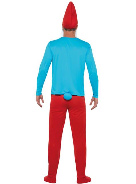 Disfraz de Papá Pitufo - hombre
