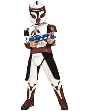 Deluxe Commander Fox Kids Costume