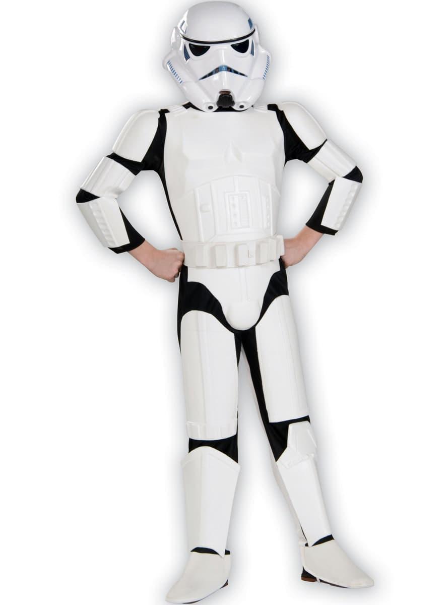 costume de stormtrooper haut de gamme pour enfant funidelia. Black Bedroom Furniture Sets. Home Design Ideas