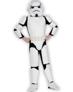 Costum Stormtrooper deluxe pentru copii