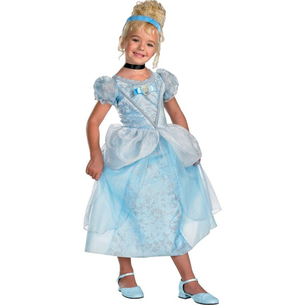 Disfraz De La Cenicienta Princesa Para Ni  A
