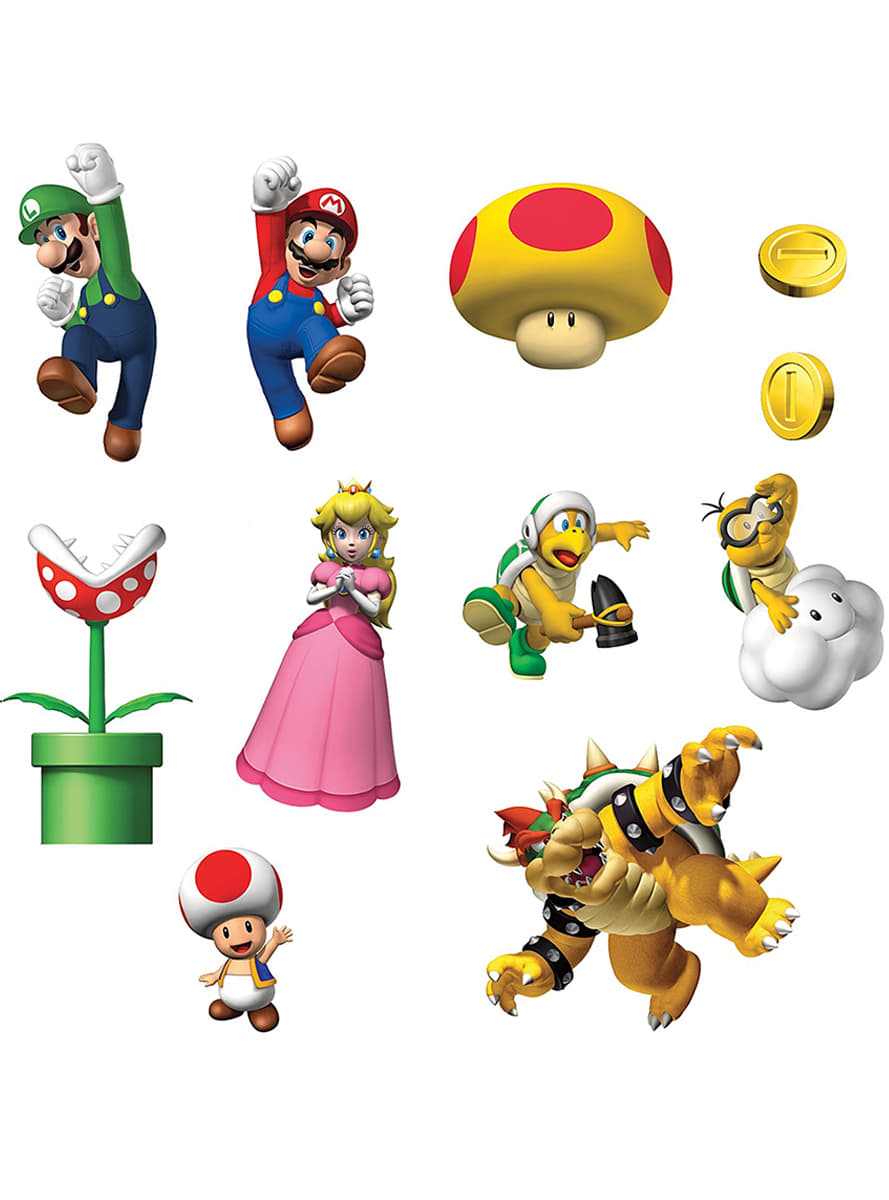 super mario bros wall stickers 3d super mario wall sticker