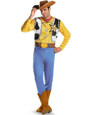 Toy Story Woody Classic Maskeraddräkt Vuxen