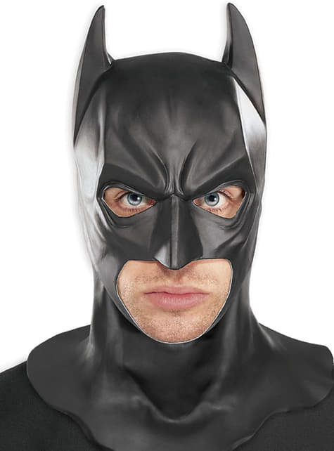 Batman Dark Knight Fancy Dress Mens Superhero Adults Costume Movie Outfit Mask