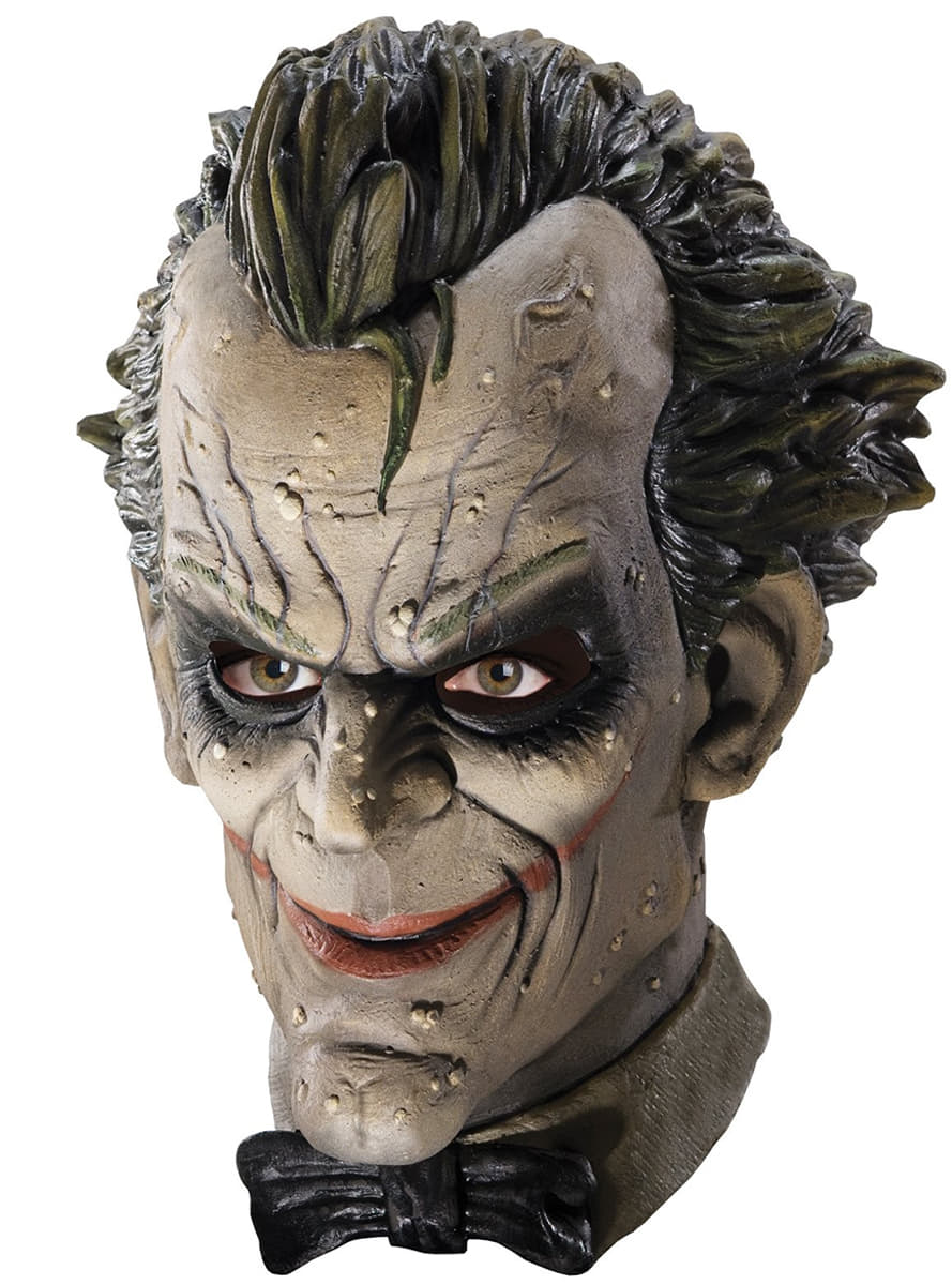 masque joker arkham city batman haut de gamme pour d guisement funidelia. Black Bedroom Furniture Sets. Home Design Ideas