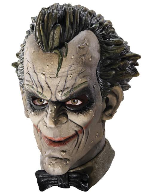 Mască Joker Arkham City Batman Deluxe