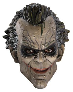 Batman The Dark Knight Rises Joker Arkham City 3/4 Vinyl Mask