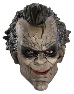 Maschera di gomma 3/4 Joker Arkham City Batman Il cavaliere oscuro-Il ritorno