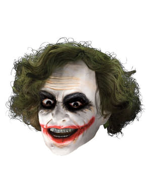 Batman The Dark Knight Rises Joker Kids Mask with Wig