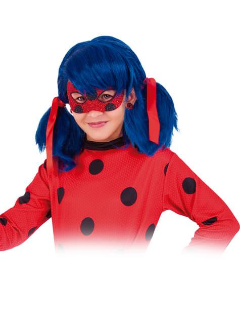 Antifaz de Ladybug deluxe para niña