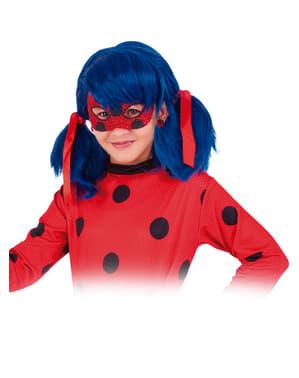 Máscara de Ladybug deluxe para menina