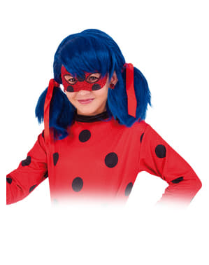Maschera Ladybug per bambina Deluxe