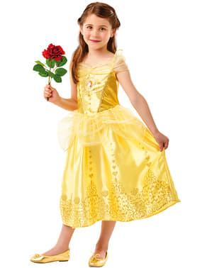 Klassisk Belle kostyme fra Skjønnheten og Udyret for jenter