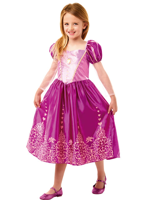Fato de Rapunzel classic deluxe para menina
