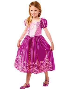 Disfarce de Rapunzel para menina