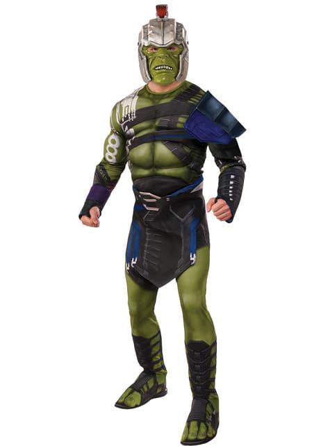 War Ragnarok Deluxe Hulk Costume for men