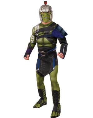 Vojnový kostým Ragnarok Deluxe Hulk pre mužov