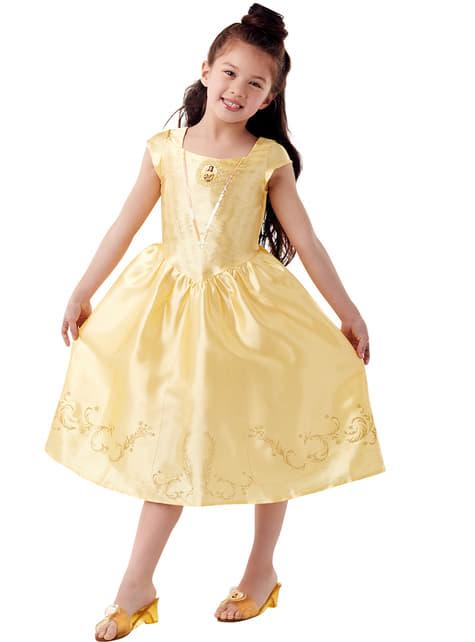 Klassiek Belle kostuum van Beauty and the Beast set voor meisjes