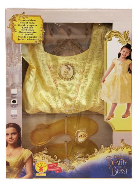 Die schöne und das Biest in einer Schachtel Kostüm für Mädchen