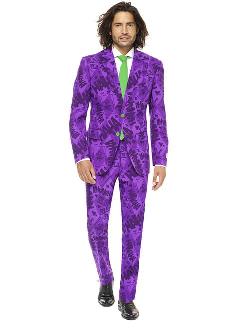 Fato do Joker Opposuits para homem