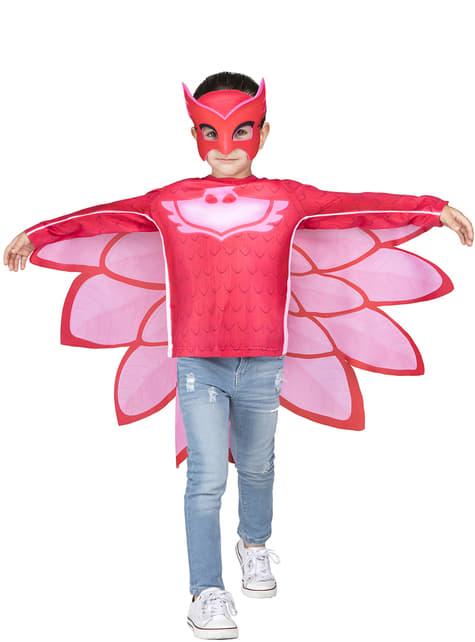 Owlette PJ Masks kostuum kit in doos voor kinderen