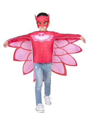 Kit costume Gufetta PJ Masks bambina in scatola