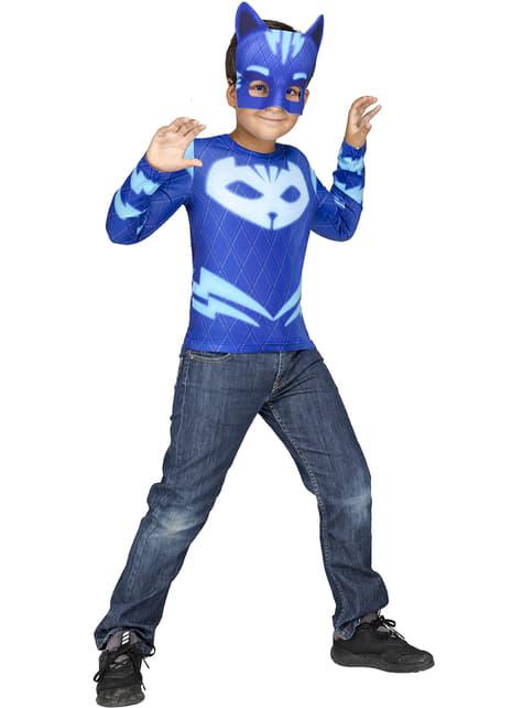 Catboy PJ Masks kostuum in doos voor jongens