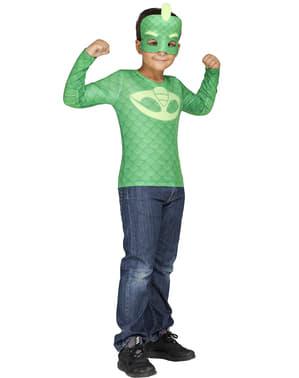 Kit disfraz de Gekko PJ Masks en caja para niño