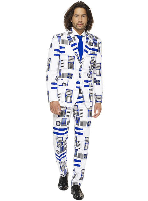 Costume R2D2 Opposuits homme