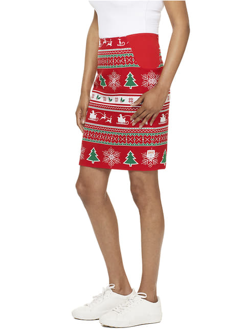 Traje Winter Wondergirl Opposuits para mujer - original