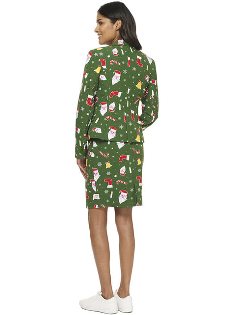 Fato Santababe Opposuits para mulher