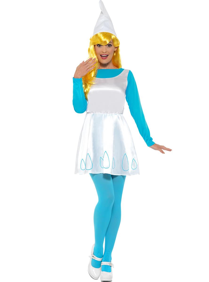 f3ff6c4993d6 Smurfeline kostyme for damer. Den kuleste