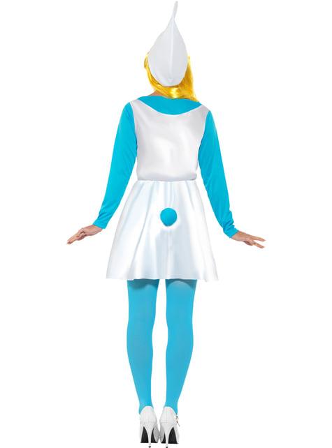Disfraz de Pitufina - mujer