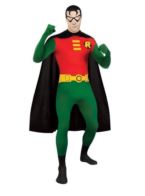 Fato de Robin de Batman Segunda Pele